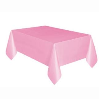 Покривка за еднократна употреба, светло розова 137х274 см