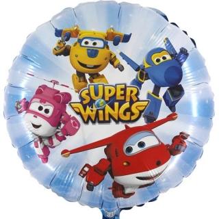 Фолиев балон Супер Уингс / Super Wings, 40 см