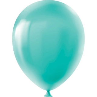 Балон мента зелен пастел, диаметър 30 см, 10 бр. в пакет