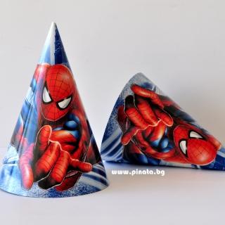 Парти шапка Спайдърмен
