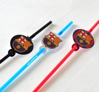 Парти сламки с облър Барселона