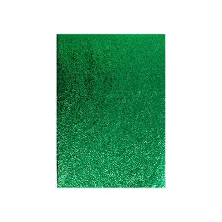 Покривка за еднократна употреба релефна - метализиран гланц, цвят зелен 120х180 см
