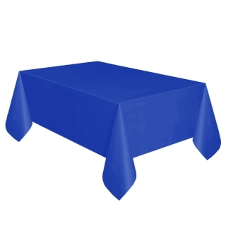Покривка за еднократна употреба, тъмно синя 137х274 см