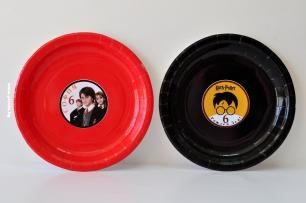 Персонализирана хартиена парти чинийка Хари Потър