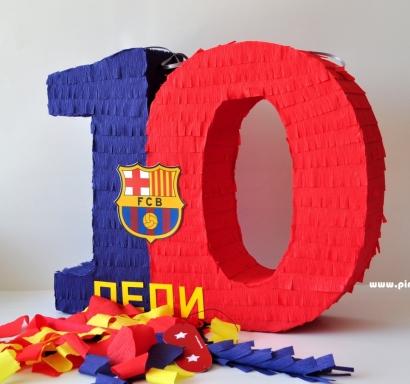 Пинята цифра Барселона, височина 45 см