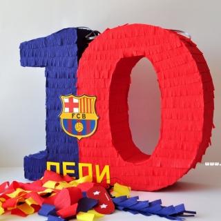 Пинята цифра Барселона