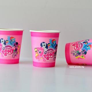 Хартиена парти чашка Малкото Пони