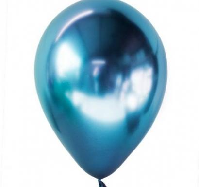 Балон хром син, диаметър 30 см