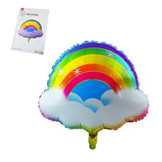 """Балон """"Дъга"""" /фолио/, 60х60 см"""