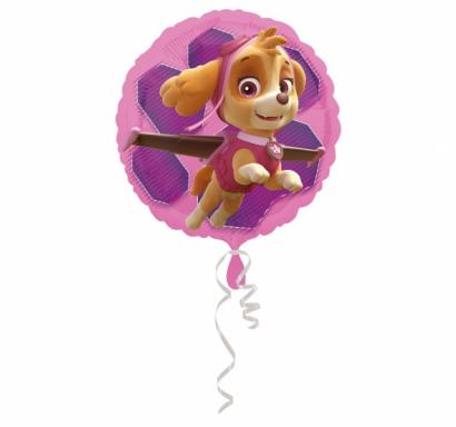 Фолиев балон Скай и Еверест Пес Патрул, две лица, 43 см лиценз Anagram /Gd/