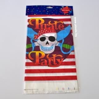 Парти покривка Пират Пиратско парти 120х180 см