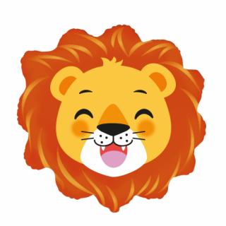 Фолиев балон Лъв глава, 65 см Flexmetal /Gd/