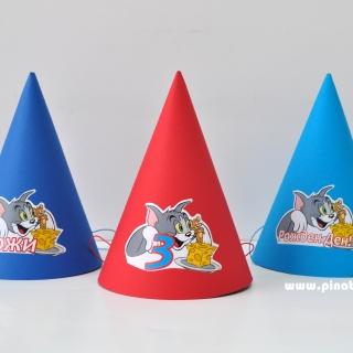 Персонализирана парти шапка Том и Джери