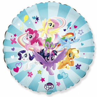 Фолиев балон Малкото Пони / My Little Pony Team 40 см, Flexmetal /Gd/
