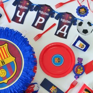 Промо тематичен пакет х10 Барселона