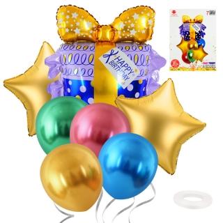 """Комплект 7 бр. балони """"Подарък"""""""