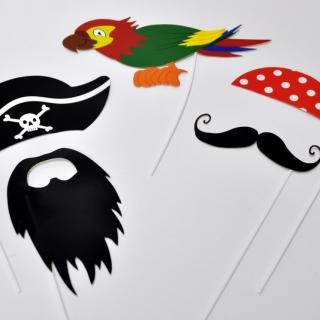 Пропсове за забавни снимки Пират, лицензирани