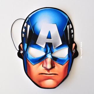 Парти маска Капитан Америка Отмъстителите