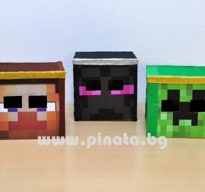 Кутия за глава Майнкрафт