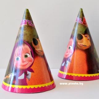 Парти шапка Маша и Мечока