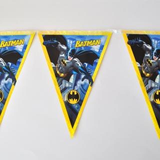 Банер гирлянд за декорация Батман, 2,00 м дължина