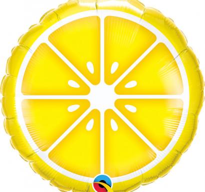 Фолиев балон Лимон / Lemon, 46 см лиценз Qualatex /Gd/