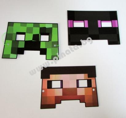 Майнкрафт маска
