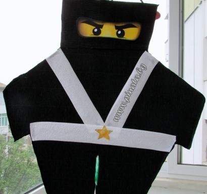 Пинята Лего Нинджаго фигура /вис.60 см, шир. 56 см/
