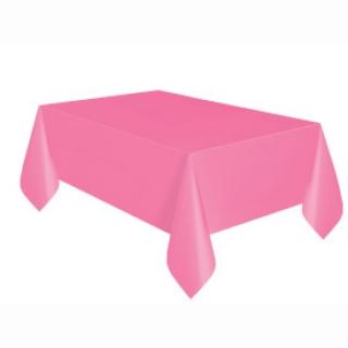 Покривка за еднократна употреба, розова 137х274 см