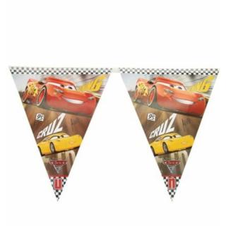 Банер гирлянд за декорация Маккуин Колите, 11 флагчета, 3,20 м дължина