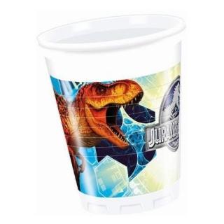 Пластмасова парти чашка Джурасик Свят Динозаври, лицензирана