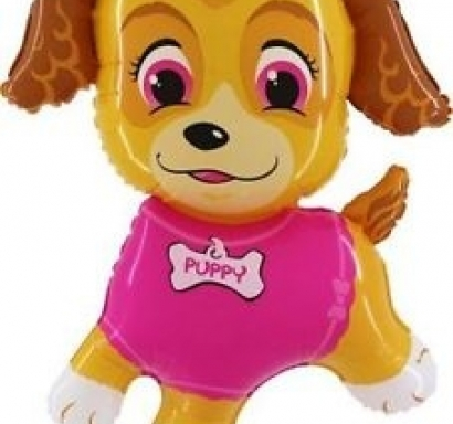 Фолиев балон Куче Скай Пес Патрул 100 см височина /38