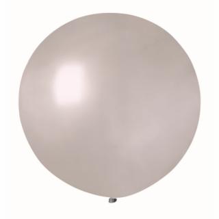 Балон  сфера  диаметър 80 см, сребърен металик  Gemar G220 /Gd/