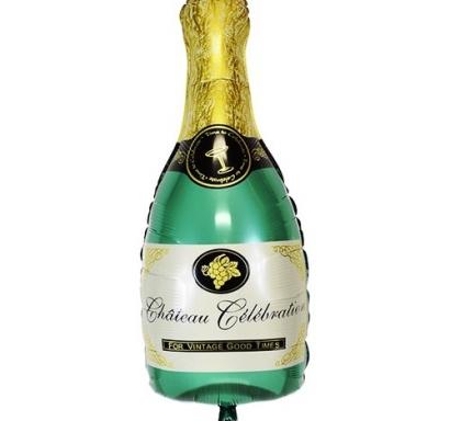 Фолиев балон Шампанско бутилка, 99 см