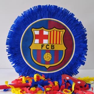 Пинята Барселона, две лица 40х40 см