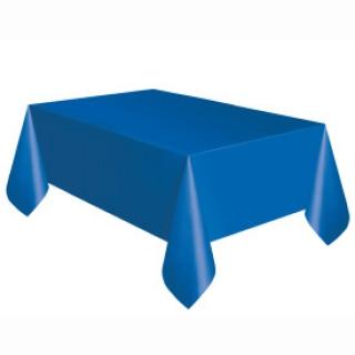 Покривка за еднократна употреба, синя 137х274 см