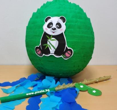 Пинята Панда диаметър 40 см