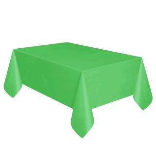 Покривка за еднократна употреба, зелена 137х274 см