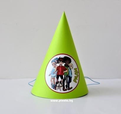 Персонализирана парти шапка Бакуган