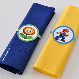 Парти салфетки Супер Марио, 33х33 см