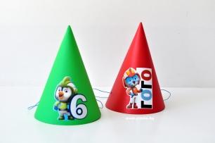 Персонализирана парти шапка Топ Кадети