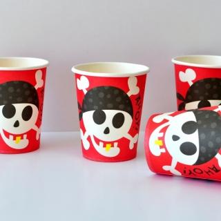 Хартиена парти чашка Пират Пиратско парти