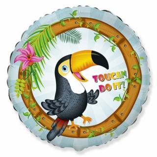 Фолиев балон Тукан / Toucan 40 см, Flexmetal /Gd/