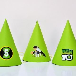 Персонализирана парти шапка Бен Тен