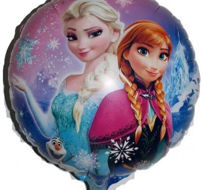 Фолиев балон Елза и Ана Замръзналото Кралство, 45 см