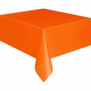 Покривка за еднократна употреба, оранжева 137х274 см