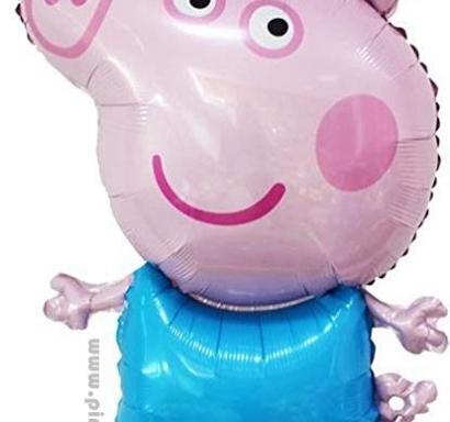 Фолиев балон Пепа Пиг Джордж 80 см височина