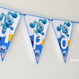 Персонализиран банер Честит Рожден Ден Загадките на Блу