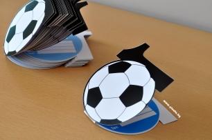 Покана цифра рожден ден футбол