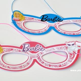 Парти маска Барби